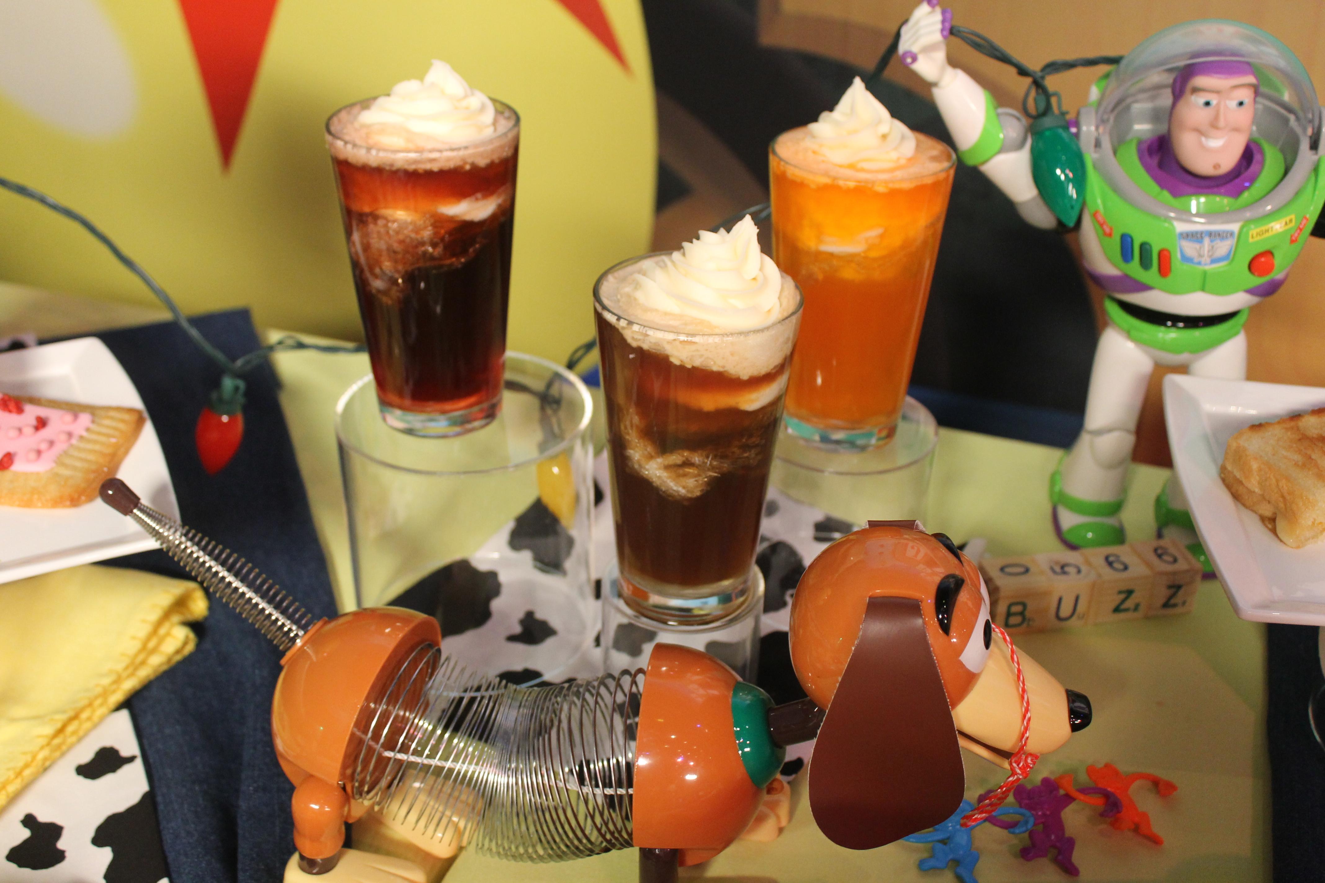 Ice cream soda toy story land