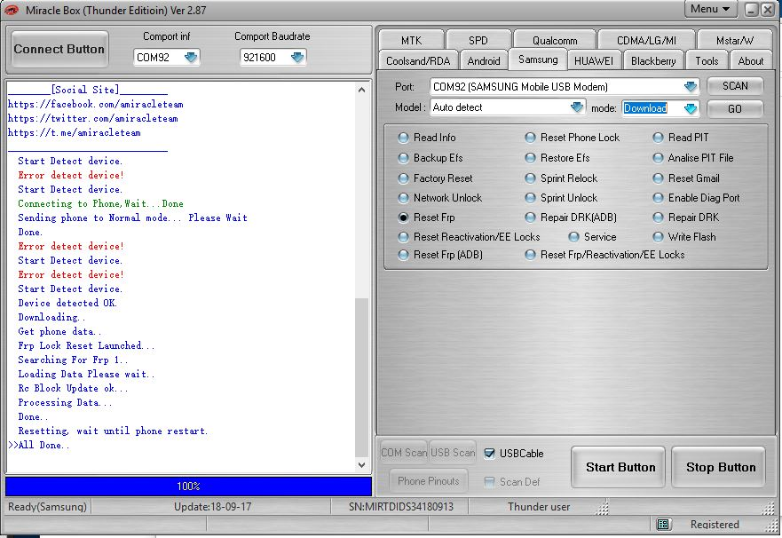 REFERENCE - Miracle FRP TOOL HAKI Done | Page 4 | ANTGSM