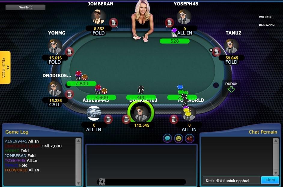 Judi Poker Domino QQ Online