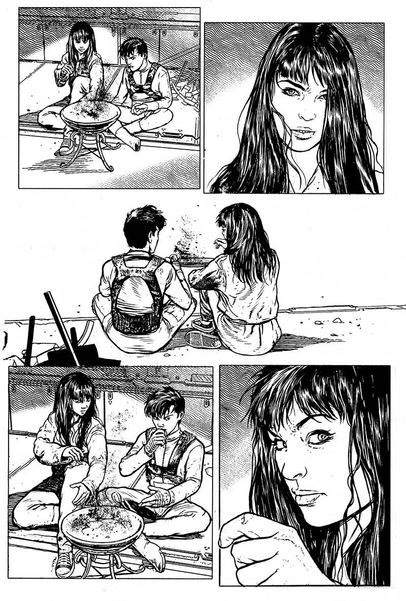 Robotech Comic Page 1