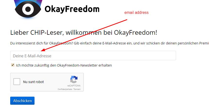 Steganos OkayFreedom Premium VPN for free