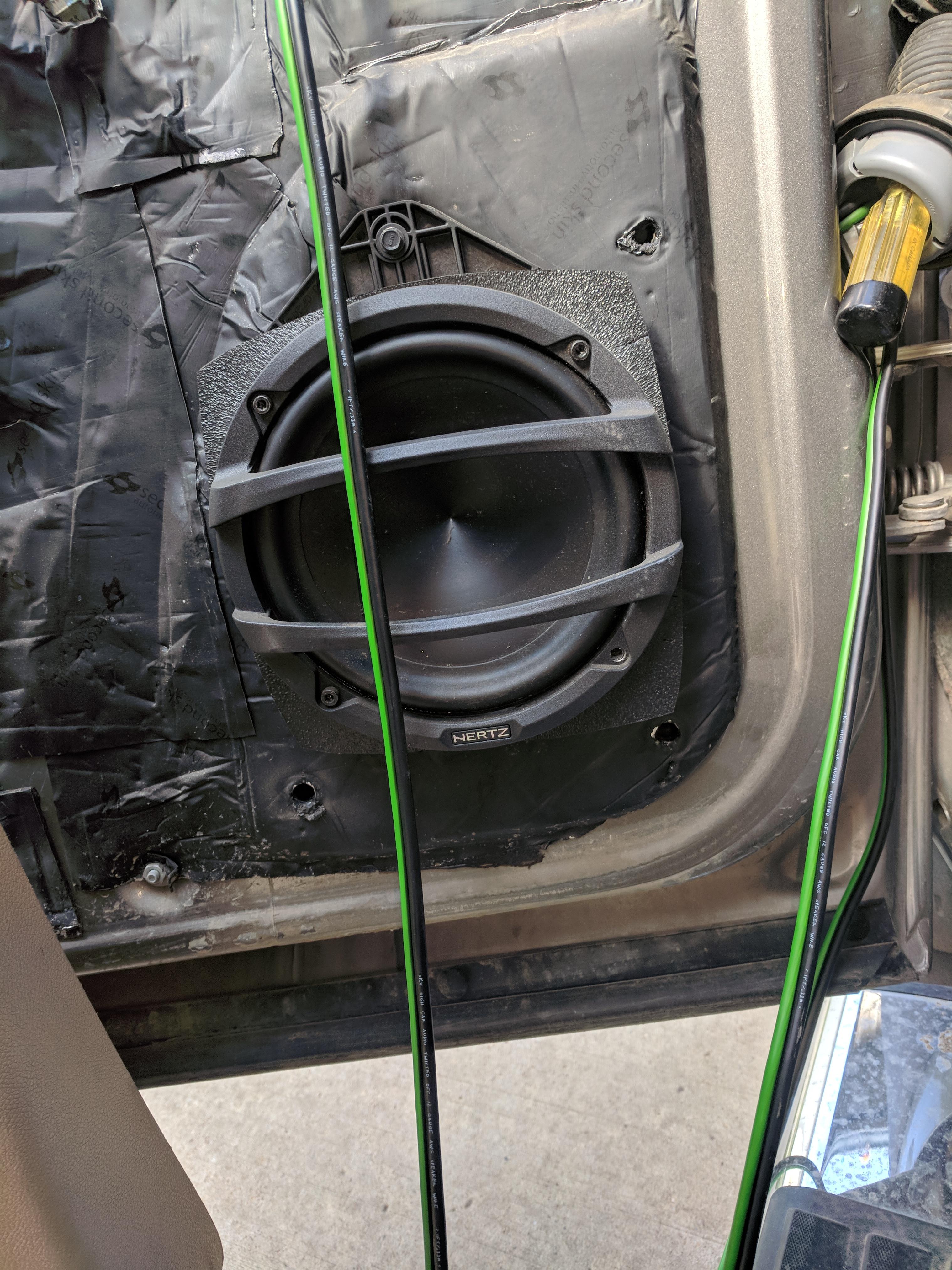 First Ever System Build Daily Driver Macks Murder Bass Denali Mack Audio Wiring Img 20180601 173752
