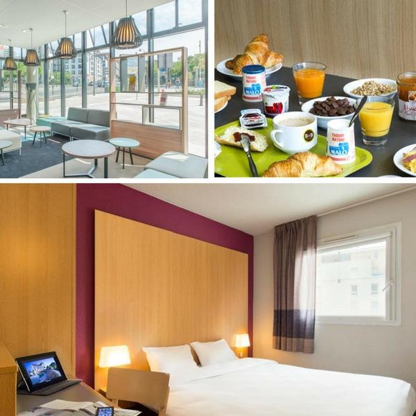 Mejores hoteles baratos en París - conpasaporte.com - B&B Hôtel Paris Porte des Lilas
