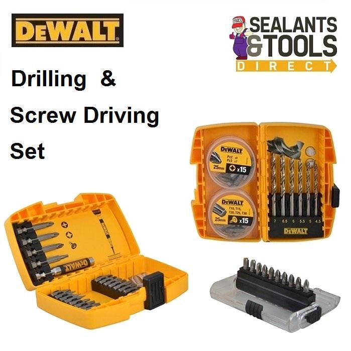 DEWALT Drilling Screw Driving Set DT71515