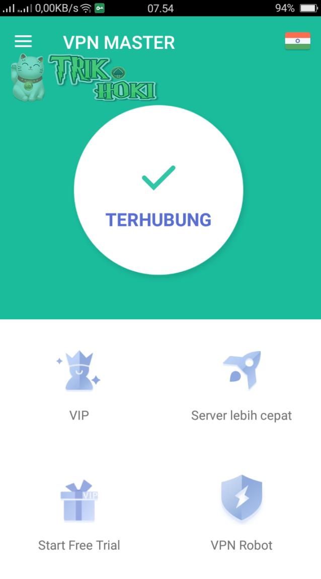 Cara Menggunakan VPN Master - Free Unblock Proxy