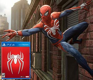 Pre-order Spider-Man on PlayStation 4 now for pre-order bonuses!