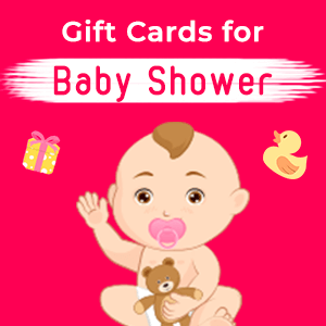 Gift Cards for Baby Shower