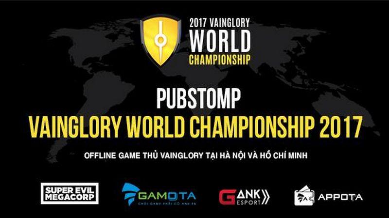 Pubstomp Vainglory World Championship 2017 cực nóng tại Hà Nội và Sài Gòn