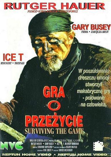 Gra o przeżycie / Surviving the Game (1994) PL.AC3.DVDRip.XviD-GR4PE | Lektor PL