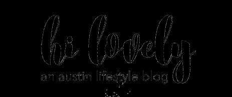 hi lovely logo