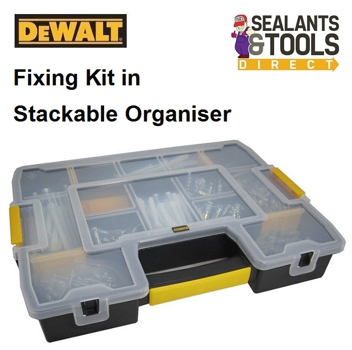 Dewalt DFMJOMIX Stackable Anchor Fixings Organiser