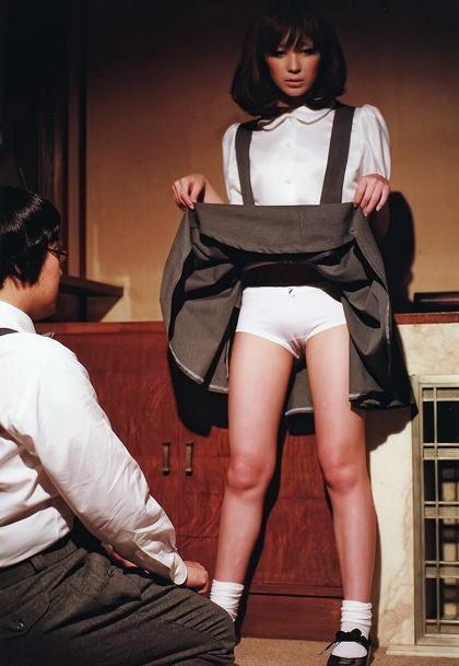 掀裙子给你看胖次-主动给你看 有点受不了