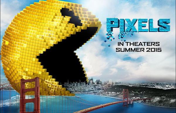 Pixels (2015) HD