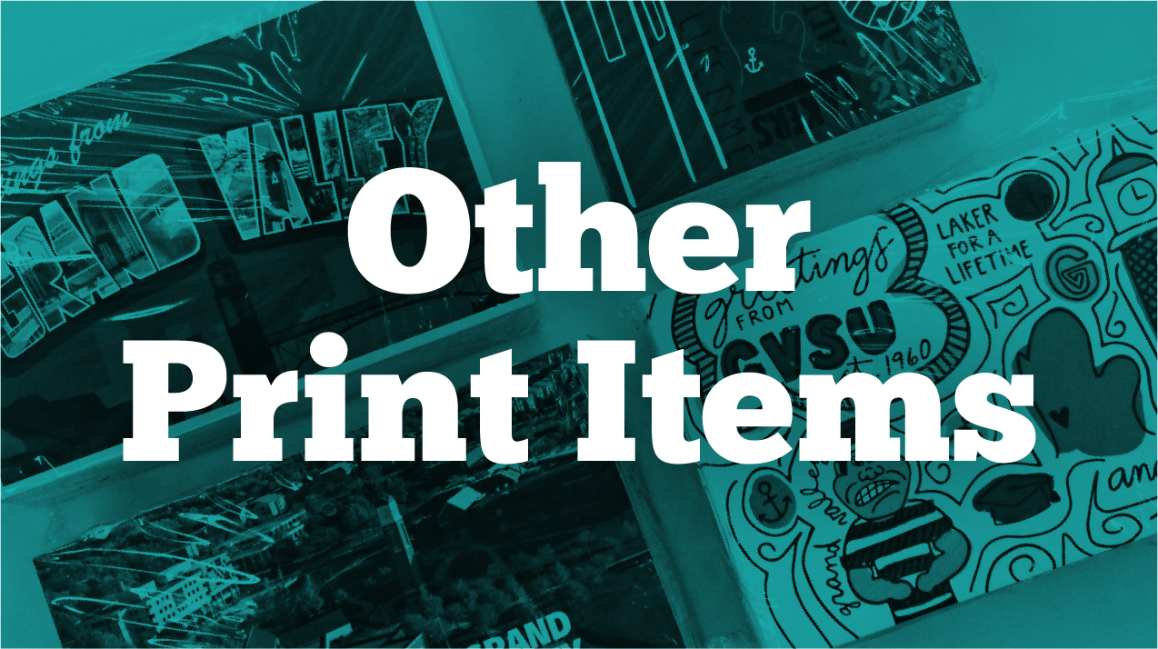 Other Print Items