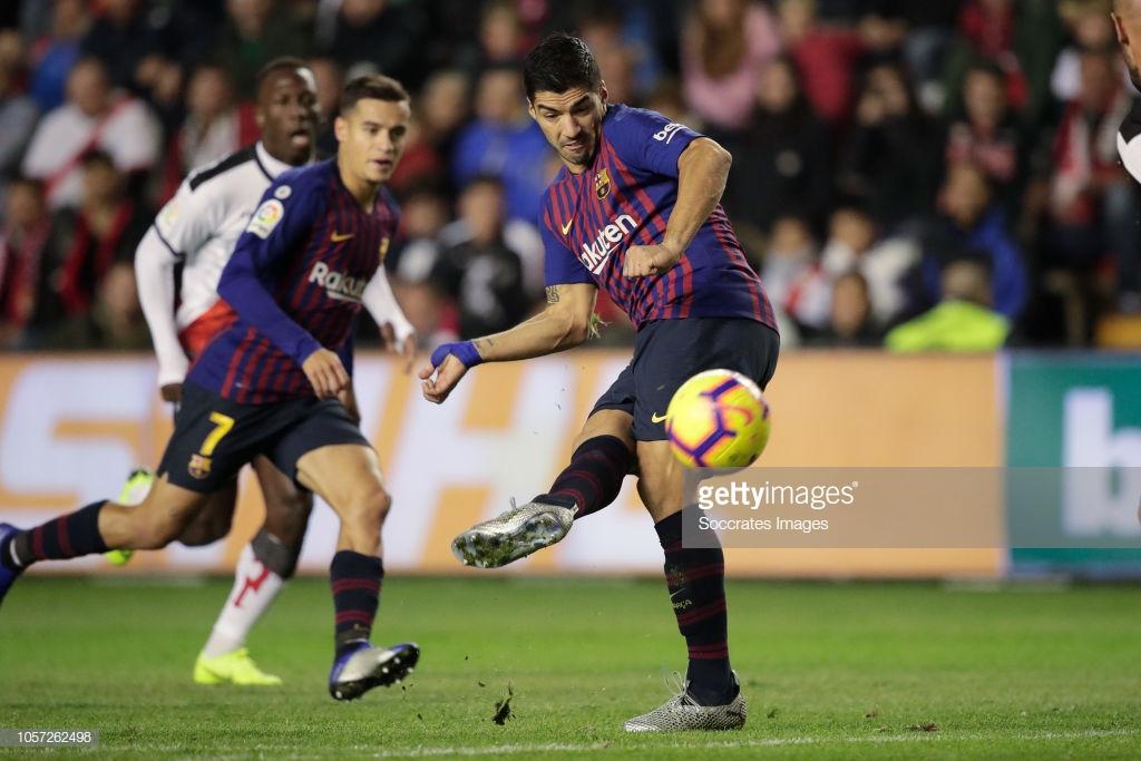 صور مباراة : رايو فاليكانو - برشلونة 2-3 ( 03-11-2018 )  S