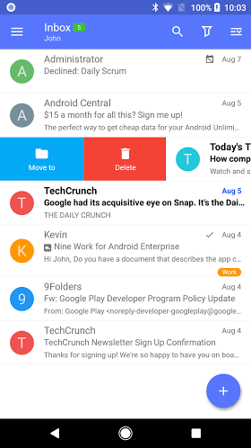 Nine - Email & Calendar FULL 4.1.1b (Unlocked) APK