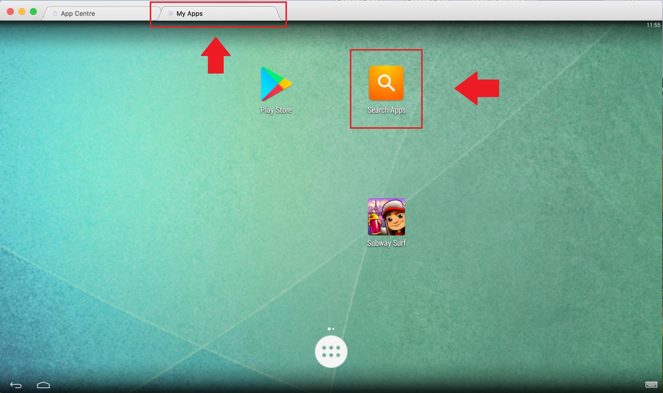 install apps on Bluestacks on mac