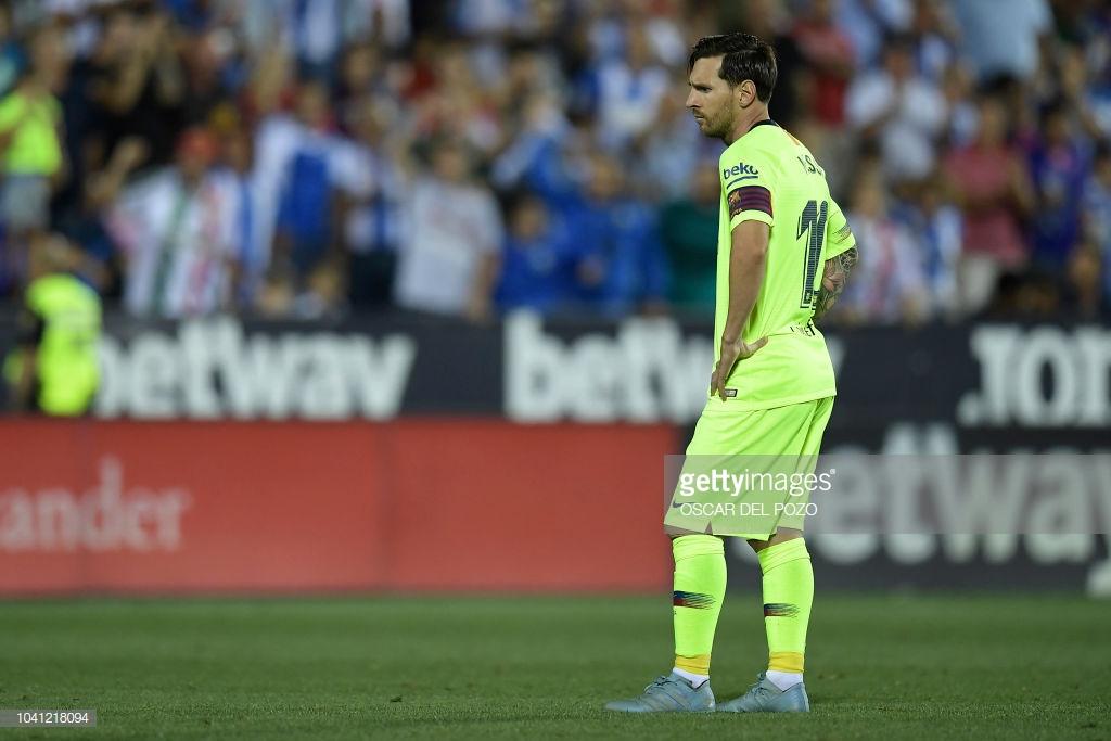 صور مباراة : ليغانيس - برشلونة 2-1 ( 26-09-2018 ) Lllll