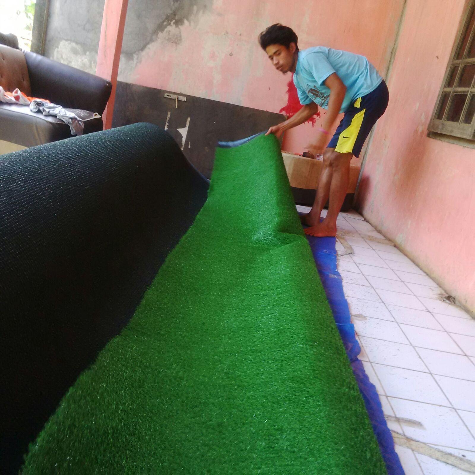 Jasa pasang rumput sintetis