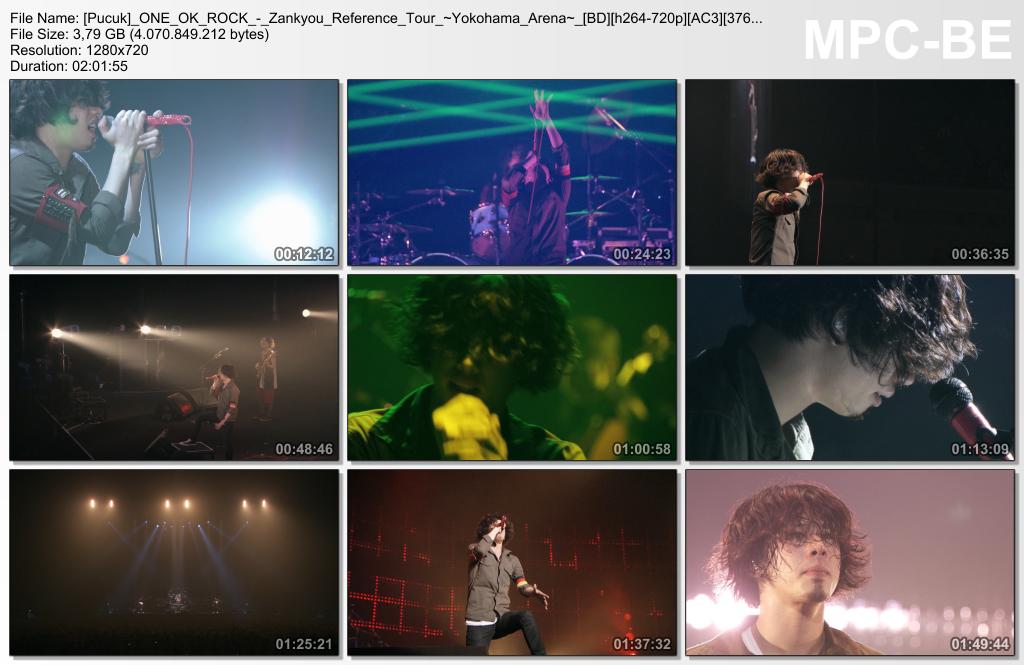ONE OK ROCK - Zankyou Reference Tour ~Yokohama Arena~