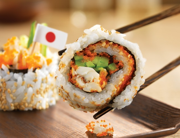 Healthy food at Walt Disney World Sushi