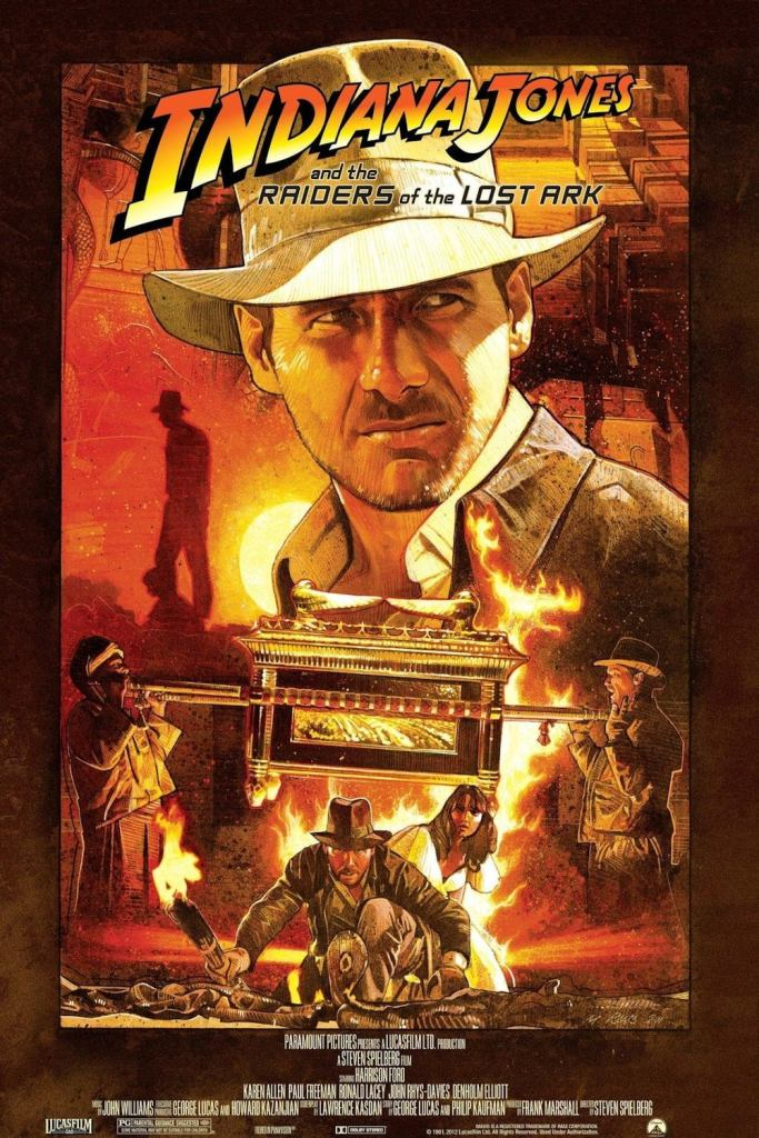 Indiana Jones and the Raiders of the Lost Ark (1981) BluRay 720p 750MB