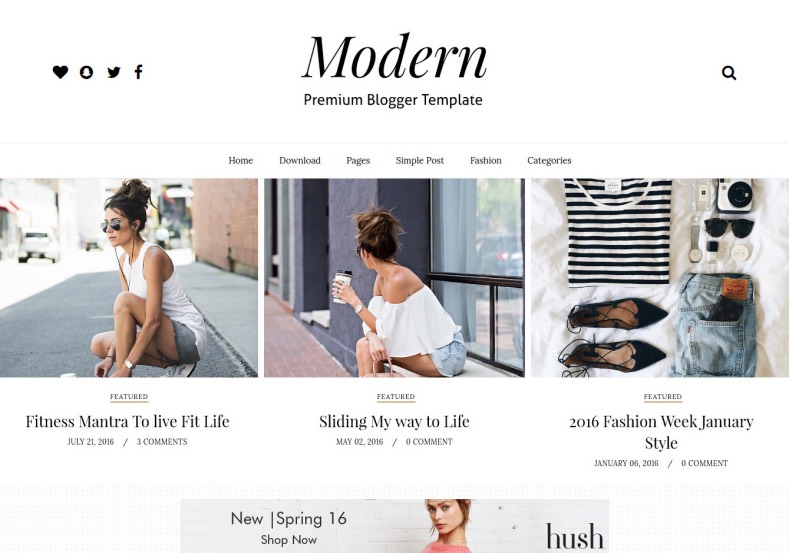 Gride_Modern_Blogger_Template