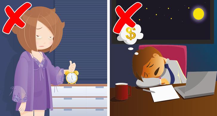 عادات قبل  وقت النوم التي تجعلك تزداد وزنا