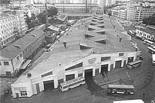 Бахметьевский гараж