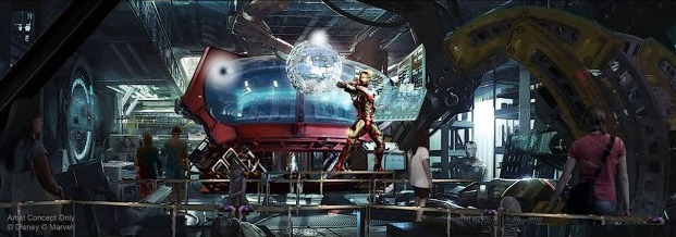 [Parc Walt Disney Studios] Attraction Iron Man et les Avengers (202?) W786
