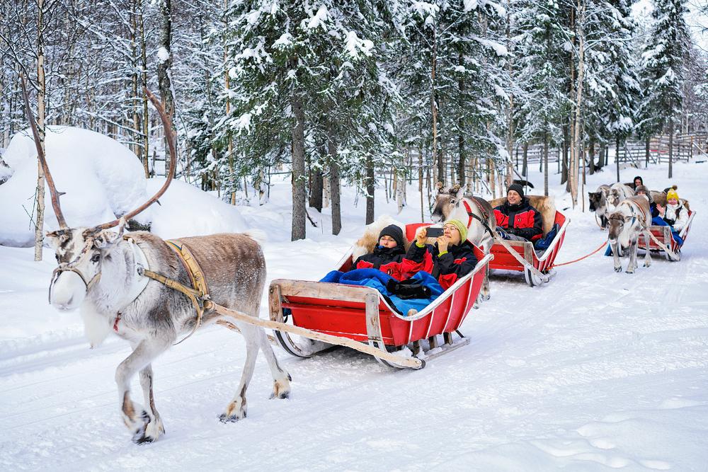 Reindeer-Sleigh-Ride