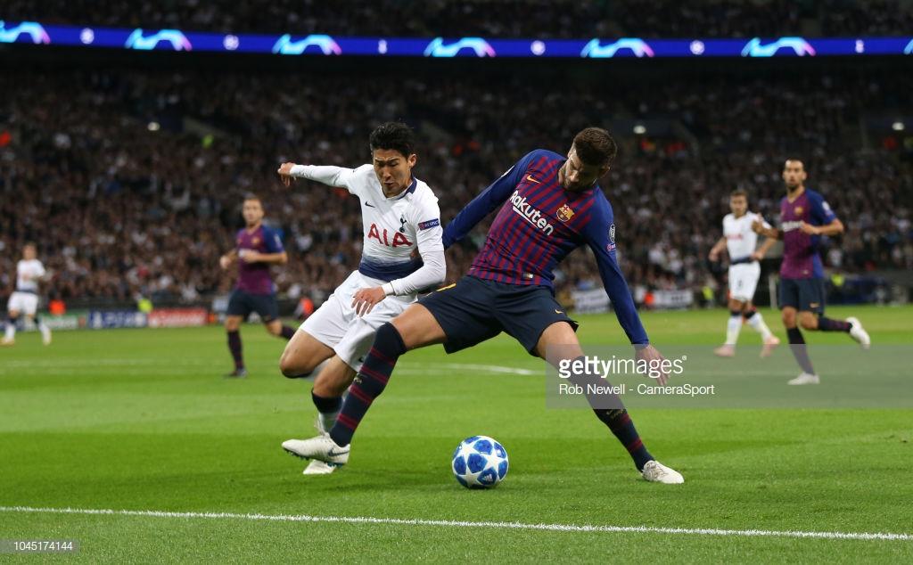صور مباراة : توتنهام - برشلونة 2-4 ( 03-10-2018 )  T6