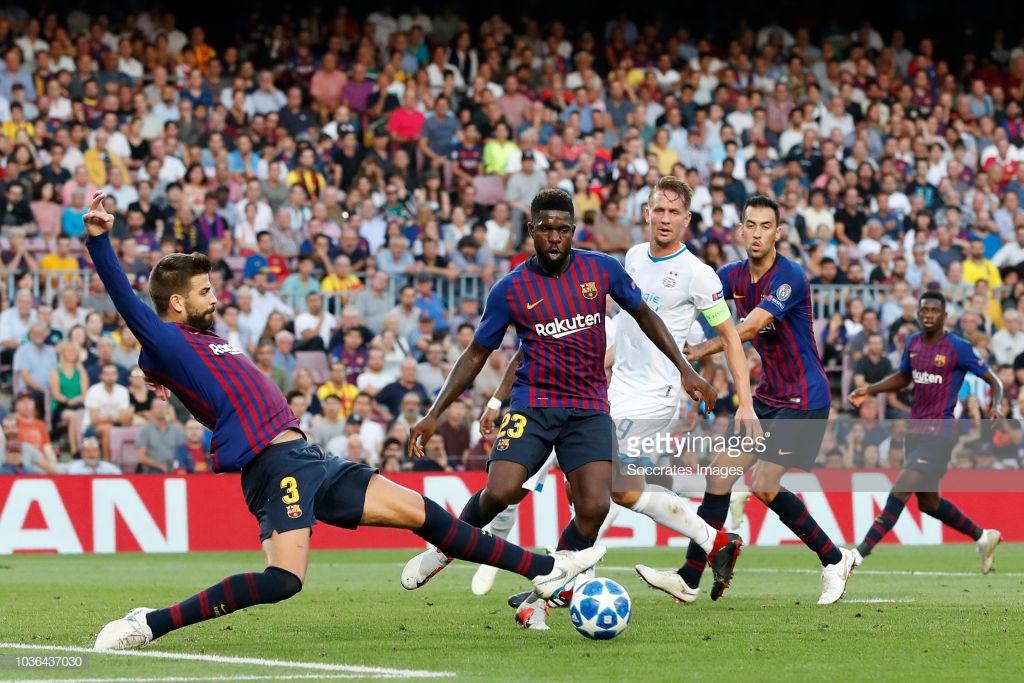 صور مباراة : برشلونة - PSV إندهوفن 4-0 ( 18-09-2018 )  3