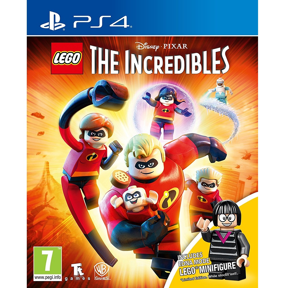 PS4 Lego The Incredibles (Basic) Digital Download
