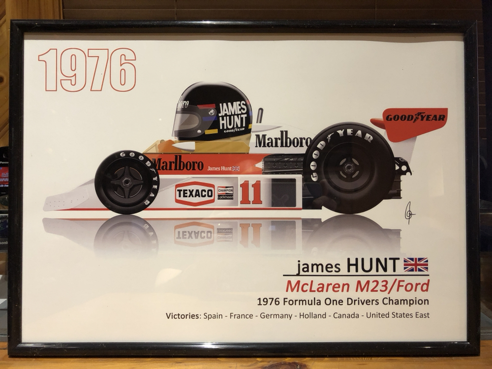 f1 toonz formula 1 grand prix car picture james hunt mclaren ford 1976