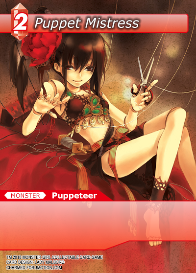 Monster Girl Collectible Card Profiles: Villainesses! - Page 2 Puppet_Mistress