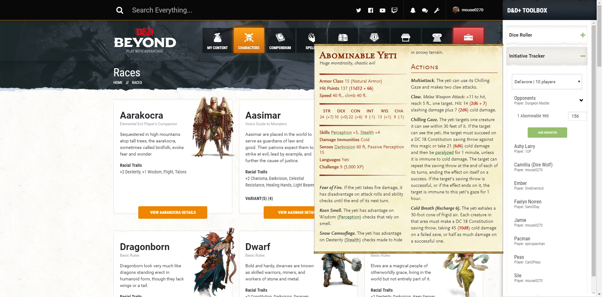 D&D Toolbox Chrome Extension - General Discussion - D&D Beyond