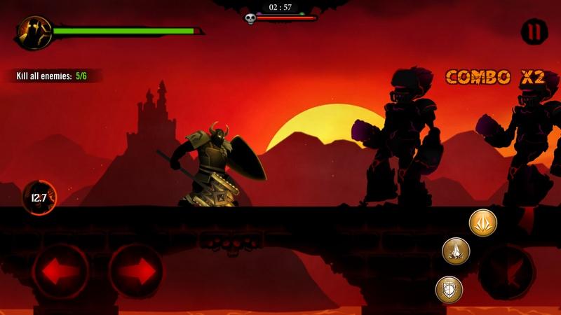 Shadow Stickman: Dark Rising - Đả chiến điên cuồng với game thuần Việt