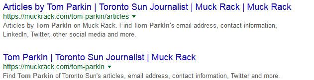 Toronto Sun?  'Nuff said.