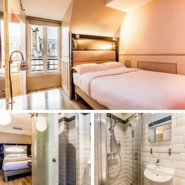 Mejores hoteles baratos en París - conpasaporte.com - District République