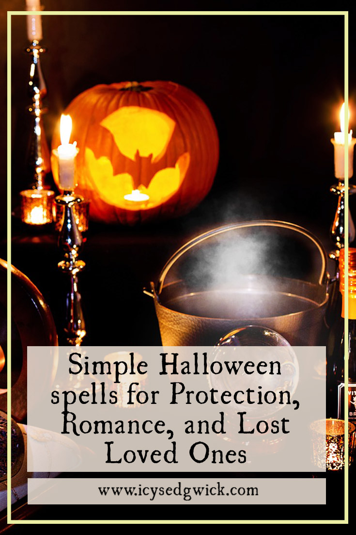 October 31 is a time of spookiness and chills. But it's also a powerful time of magic and fortune telling. Click here for some simple Halloween spells!