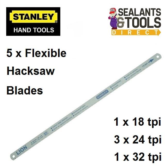 Stanley sta 0 15 801 Flexible hacksaw blades