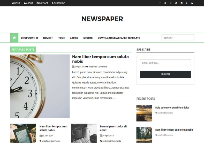 Newspaper_Responsive_Blogger_Template_3