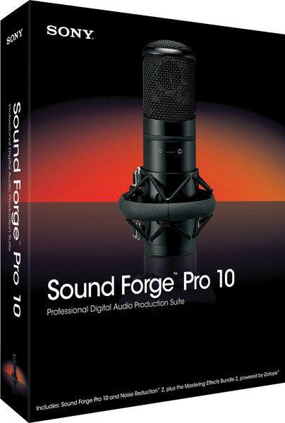 SONY Sound Forge Pro v10
