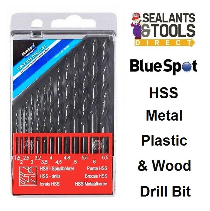 Blue Spot HSS Twist Drill Bit Set 20338