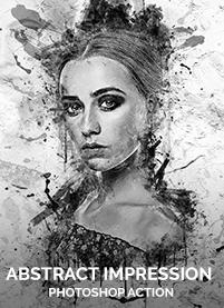 Charcoal Art - Realistic Dust Photoshop Action - 14