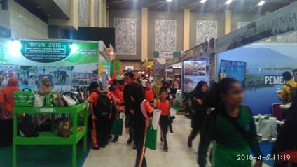 Berkunjung ke Indogreen Environment & Forestry Expo 2018