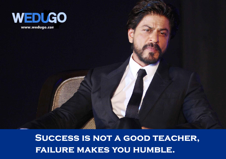 Shahrukh Khan inspirational quotes