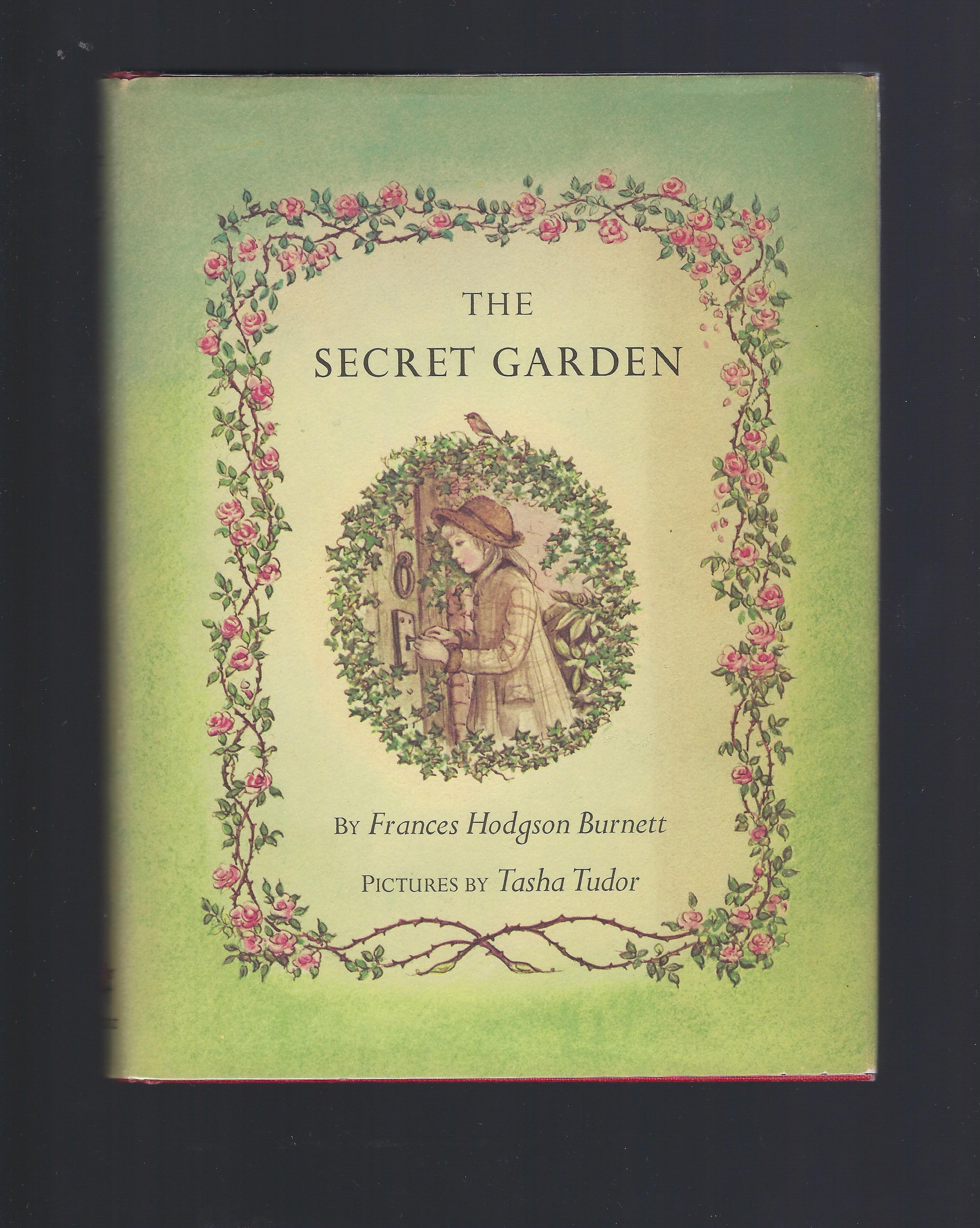 The Secret Garden (1980) illustrated by Tasha Tudor HB/DJ, Frances Hodgson Burnett; Illustrator-Tasha Tudor
