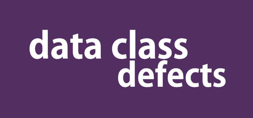Data Class Defect Categories